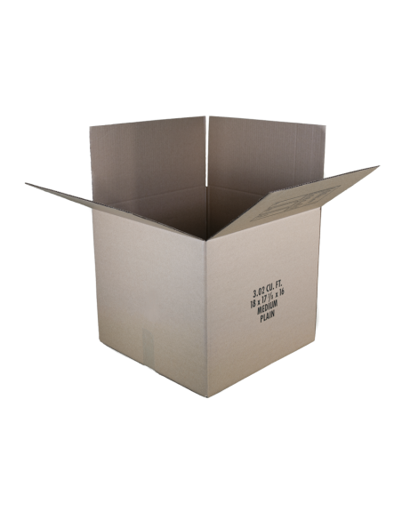 3 Cubic Feet - Open Medium Moving Box