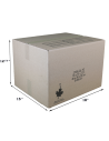 2 Cubic Feet - Closed Small Moving Box