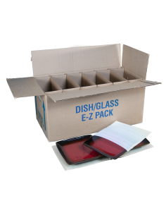 Complete Protection Set For Dishes E-Z Pack With A few Plates In Foam Poaches
