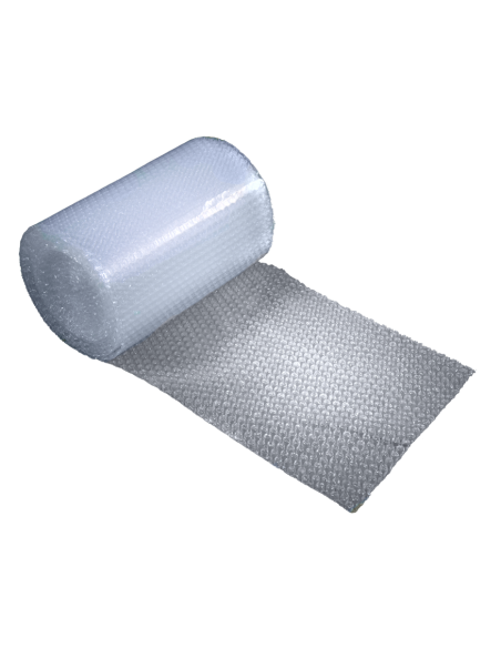 """3/16"""" Small Bubble Wrap 12"""" x 25 ft (Unrolled Side)"""