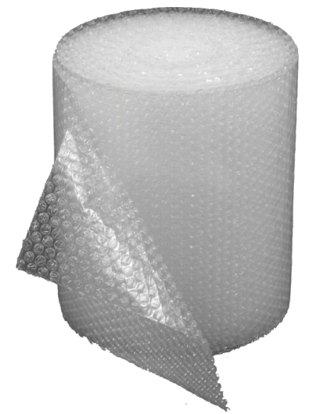 """3/16"""" Small Bubble Wrap 12"""" x 50 ft (Unrolled)"""