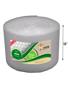 """3/16"""" Small Bubble Wrap 12"""" x 150 ft (Front)"""