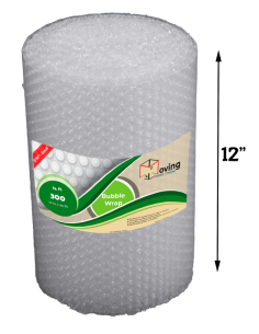 "3/16"" Small Bubble Wrap 12"" x 25 ft (Front)"
