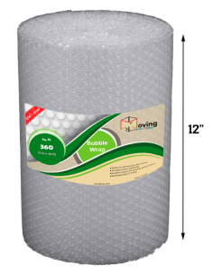 "3/16"" Small Bubble Wrap 12"" x 30 ft (Front)"