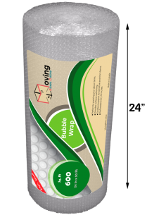 """3/16"""" Small Bubble Wrap 24"""" x 50 ft (Front)"""