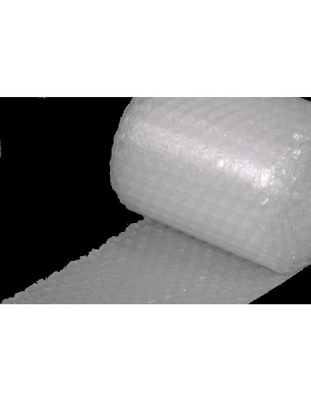 """5/16"""" Medium Bubble Wrap 12"""" x 30 ft (Side Close Up)"""