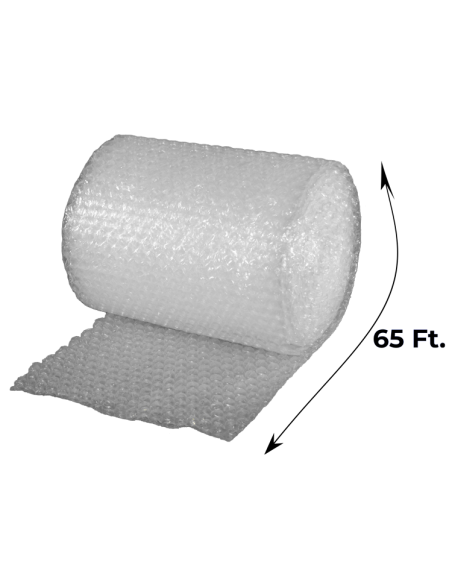 """1/2"""" Large Bubble Wrap 24"""" x 65 ft (Unrolled Side With Measurements)"""