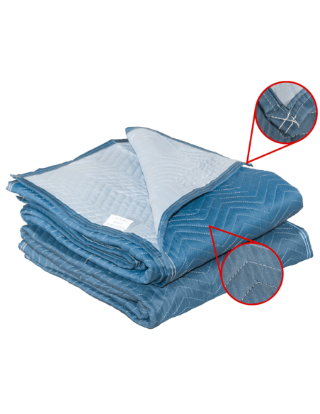 2 Pack Moving Blankets Microfiber Woven 72 Quot X 80 Quot Mbo 85