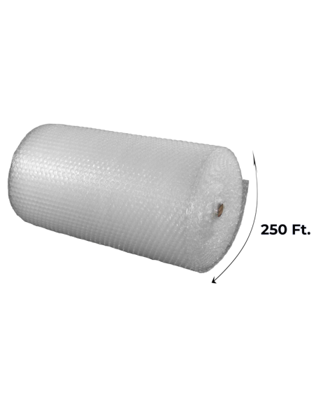 """1/2"""" Large Bubble Wrap 48 inch height x 250 ft length (Side Unrolled)"""