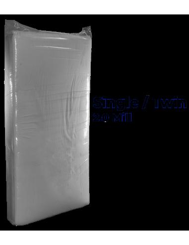 Twin / Single Mattress Bag | 2.0 mil poly | Moving Boxes ...