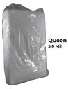 Queen Heavy Duty Mattress Bag 5.0 mil poly