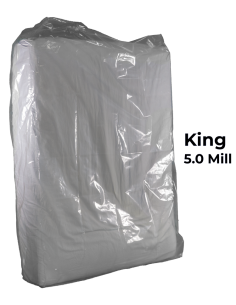 King Heavy Duty Mattress Bag 5.0 mil poly