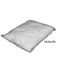 Foam Packing Peanuts 1.5 Cu Ft